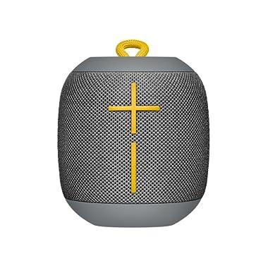 Ultimate Ears WONDERBOOM Waterproof Super Portable Bluetooth Speaker – IPX7 Waterproof – 10-hour Battery Life – Stone Grey