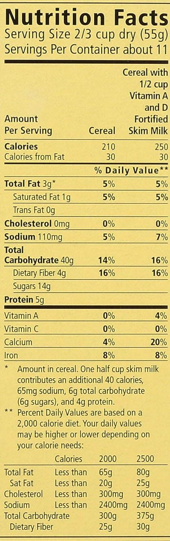 Familia - Cereales de granola de baja grasa, 6 unidades ...