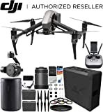 DJI Inspire 2 Quadcopter with Zenmuse X7 Camera and 3-Axis Gimbal + DJI Zenmuse X7 DL 24mm F2.8 LS ASPH Lens Starters Bundle