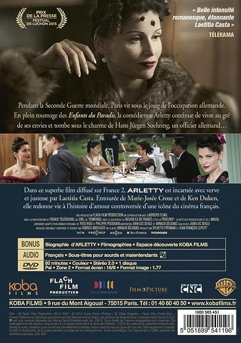 Amazon Com Arletty Une Passion Coupable Movies Tv