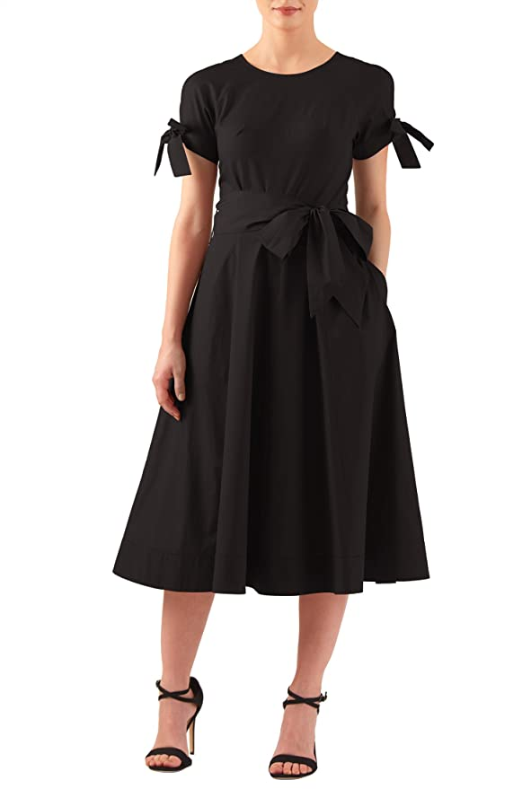 Plus Size Retro Dresses eShakti Womens Everley dress $52.95 AT vintagedancer.com
