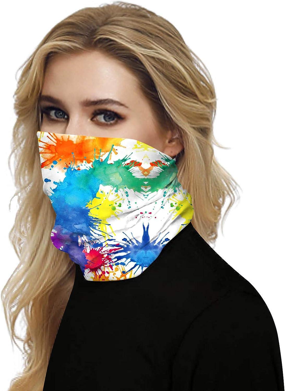 Bandana for Rave Face Mask Dust Wind UV Sun Motorcycle Face Mask
