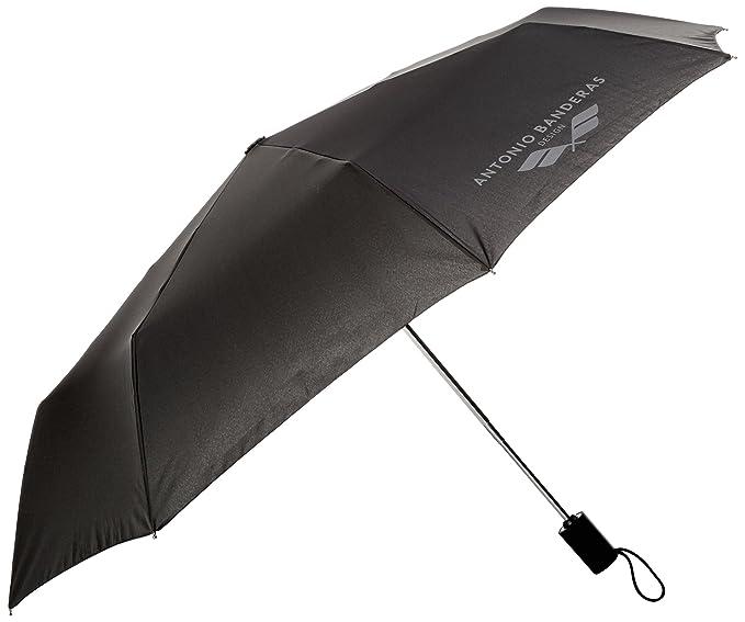 Starlite Shop 10538, Paraguas para Hombre, Negro (Black), One Size (Tamaño del Fabricante:TU): Amazon.es: Ropa y accesorios