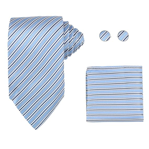 YAC1A06 Designer Gift Various of Colors Stripes Silk Tie for Mens 3PT By Y/&G