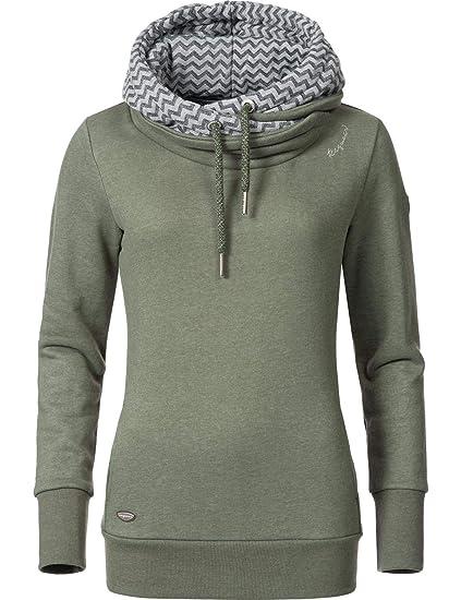 San Francisco a867a fdfc9 Ragwear Damen Kapuzenpullover Sweatshirt Doblin 6 Farben XS-XXL