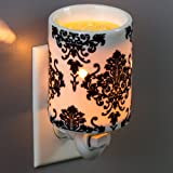 Plug-In Fragrance Wax Melt Warmers (Damask)