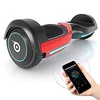 "6.5"" Self Balance Scooter Bluewheel HX420 - Kinder Sicherheitsmodus App – Bluetooth Lautsprecher – Starker Dual Motor – LED Motorbeleuchtung - Elektro Board Self-Balance E-Skateboard"