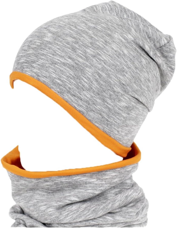 Karbaro KINDERM/ÜTZE 2IN1 Loopschal 100/% Baumwolle