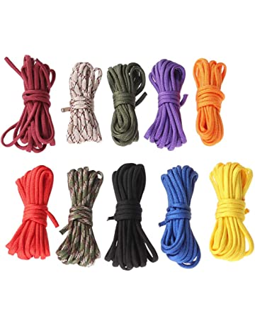 SUPVOX 10pcs Climbing Rope Paracord Emergency Survival Rope Set