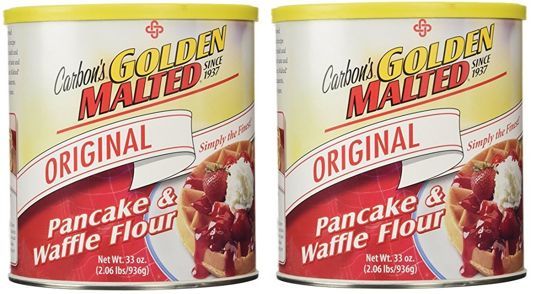 Golden Malted Waffle and Pancake Flour, Original (66 ounce) by Golden Malted