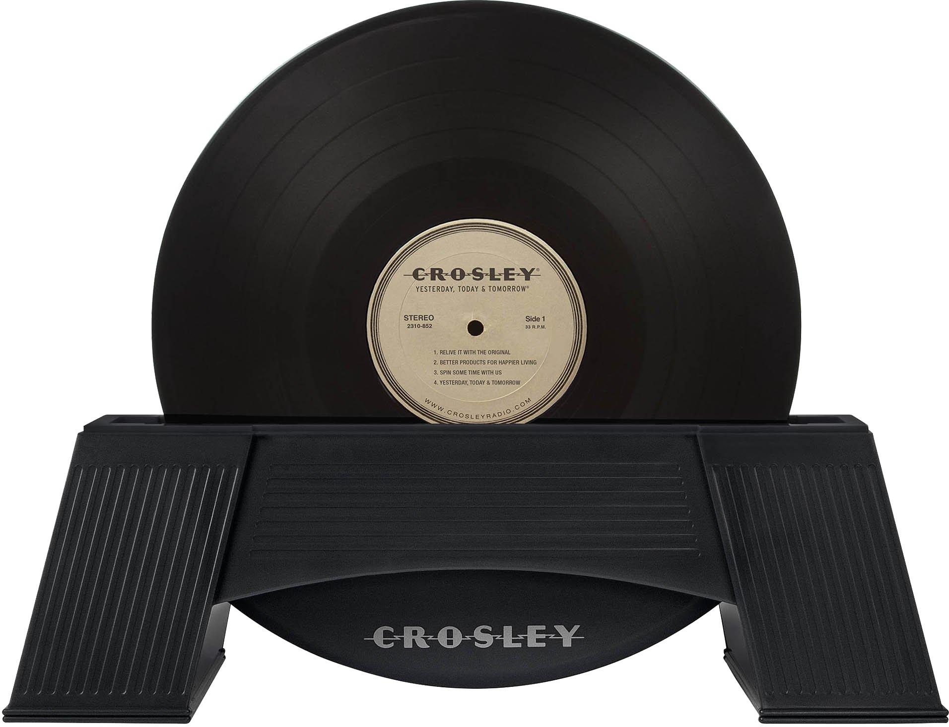 Crosley AC1001A-BK Vinyl Record Cleaner, Black