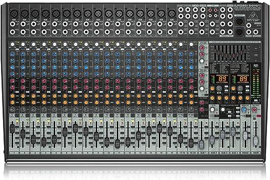 Behringer Sx2442fx Eurodesk Table De Mixage Amazon Ca