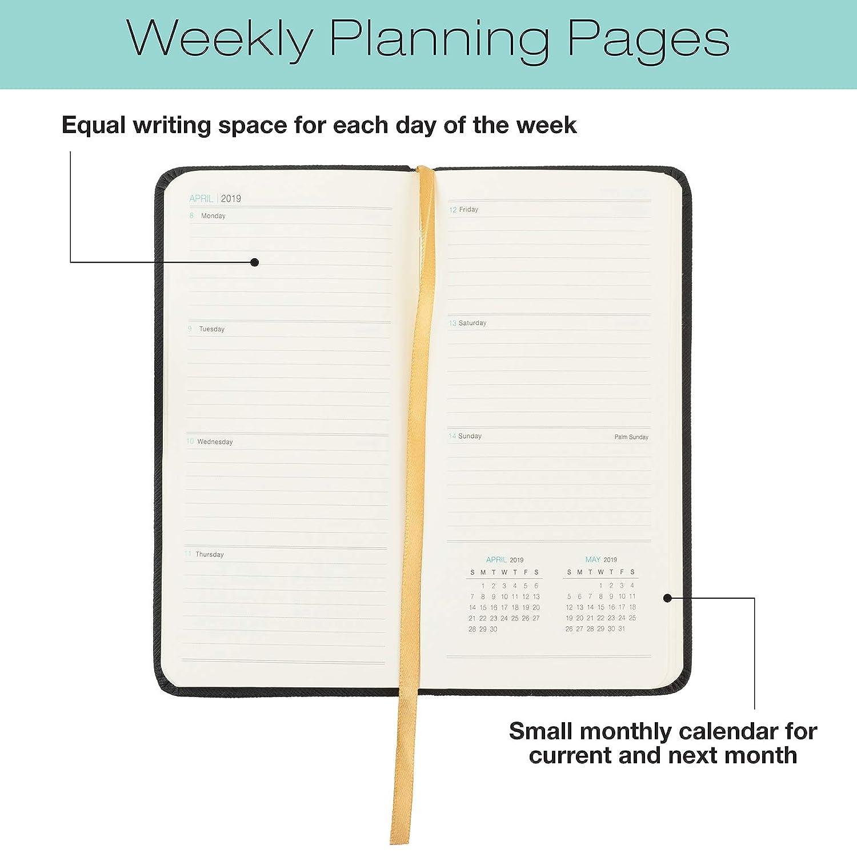 2019 Pocket Planner/Pocket Calendar: 14 Months (Begins November 2018) / 2019 Calendar/ 2019 Weekly Calendar/Weekly Planner Organizer (Black)