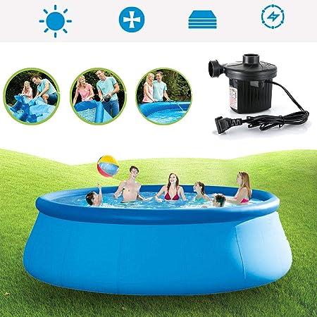 Woniu Piscina Hinchable,Piscinas Desmontables con Depuradora con Hinchable Filtro para Niños Baño De Adultos,366cm*76cm: Amazon.es: Hogar