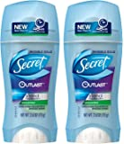 Secret Outlast Invisible Solid Antiperspirant Deodorant, Unscented, 2.6 Ounce (Pack of 2)
