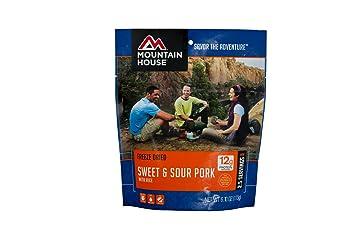 Mountain House Casa de montaña Sweet & Sour cerdo con arroz