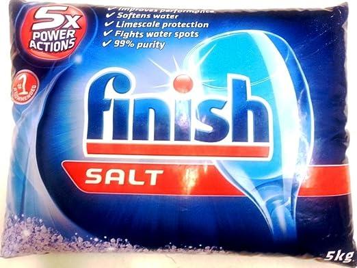 Sal para lavavajillas (11 libras) recomendada para Bosch, o ...