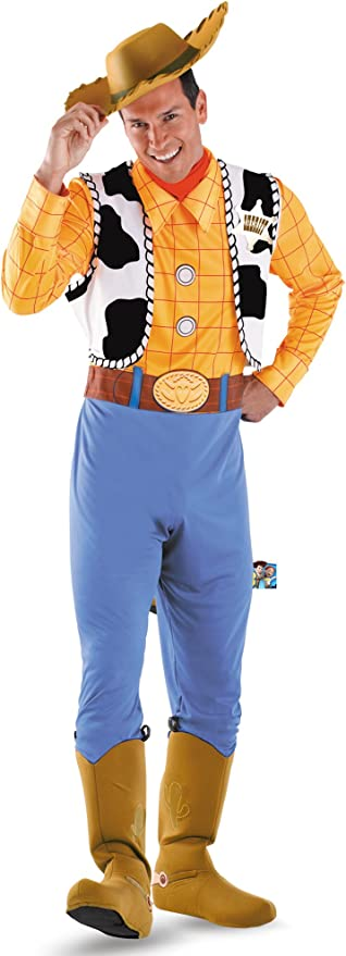 Disguise Costumes Hombre Disfraz Woody Deluxe adultos: Amazon.es ...