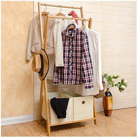 Amazon.com: LYHOME - Perchero de bambú creativo para abrigo ...