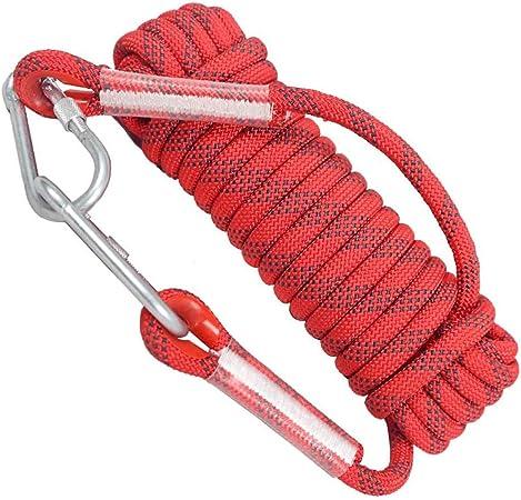 Hewei - Cuerdas de escalada (10 mm, cuerda de rescate para ...