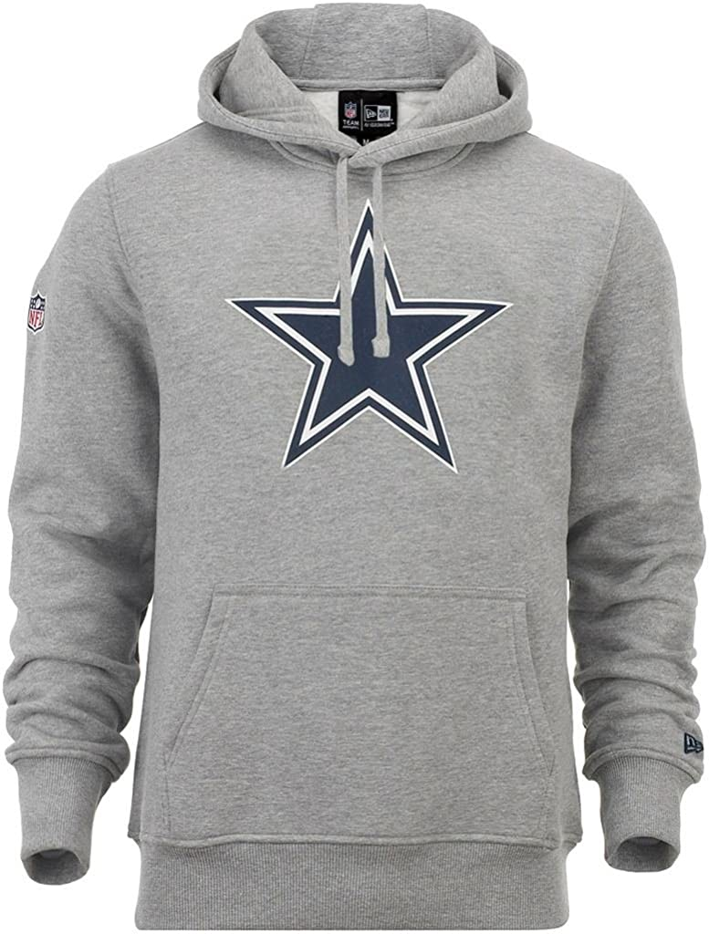 NFL Dallas Cowboys 2.0 schwarz New Era Fleece Hoody