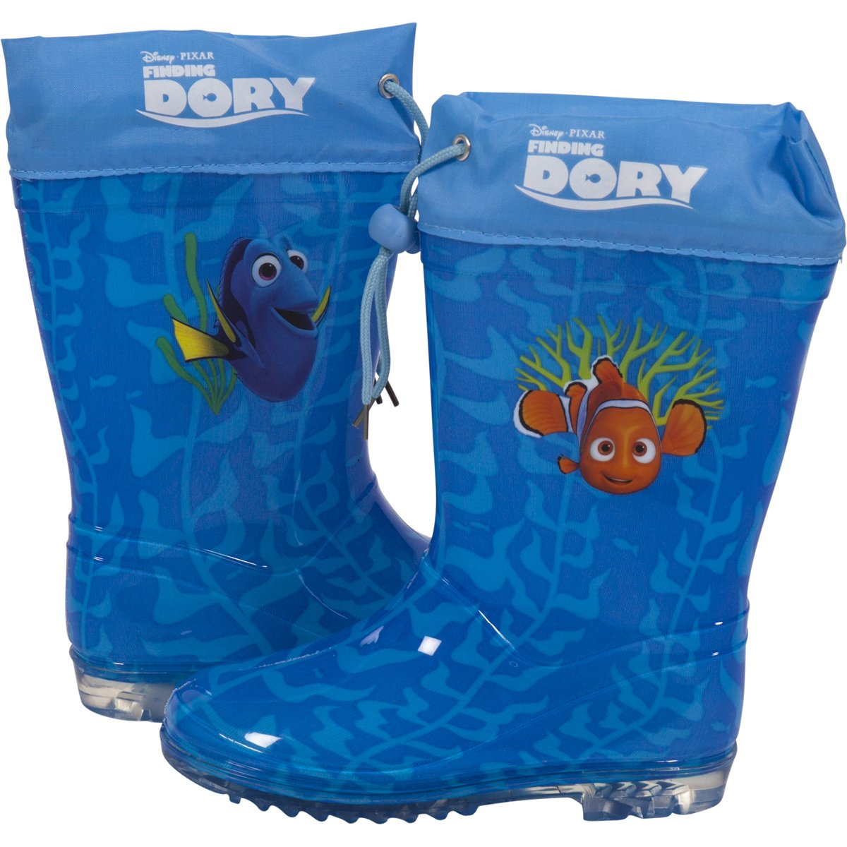 703e9c0fbb2 Disney Finding Dory Kids Waterproof Rubber Wellington Wellies Slip-On  Winter Character Rain Gumboots Boots for Girls & Boys Snow Welly for  Children & ...