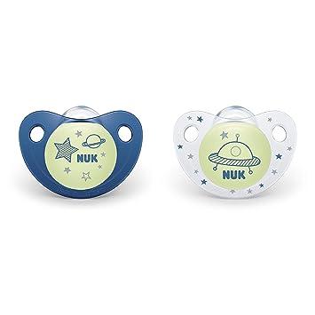 Amazon.com: NUK 2 piezas Cute-as-a-Button Brillante en The ...
