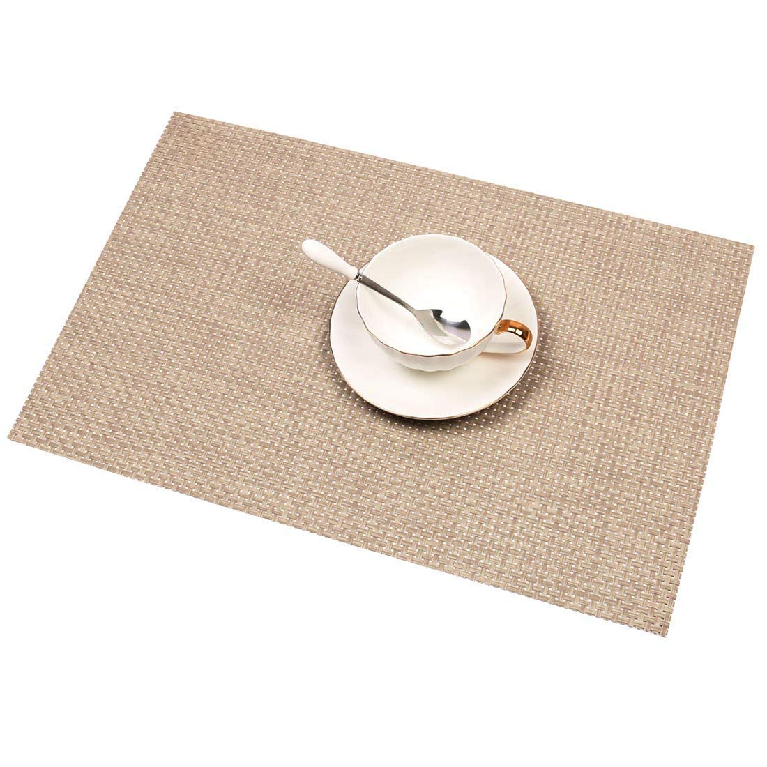 Homcomoda Placemats for Dining Table Set of 6 Place Mats for ...