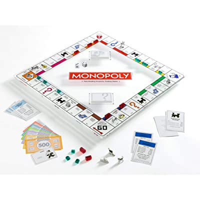 WS Game Company Monopoly Glass Edition: Toys & Games