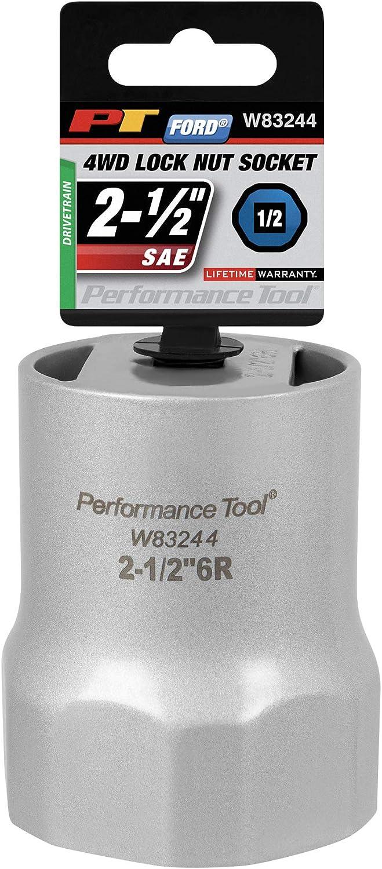 Performance Tool W83255 55mm Hex Socket 1//2 Drive Tool