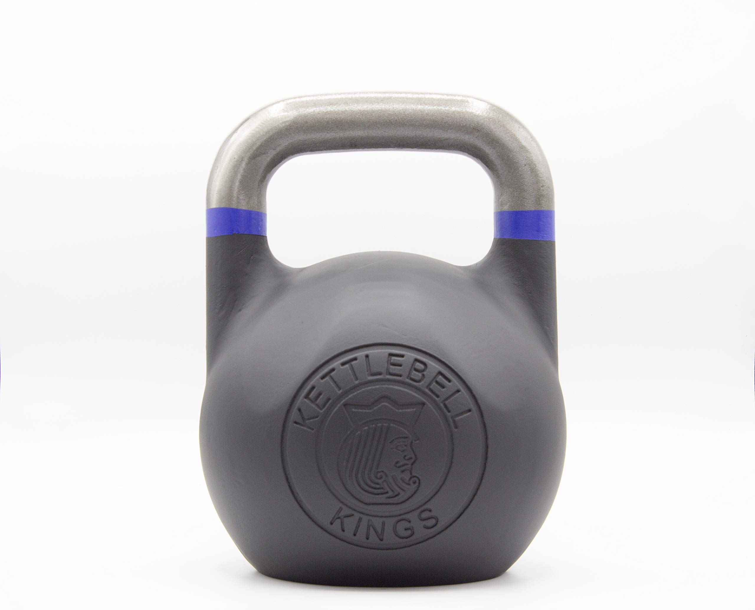 Kettlebell Kings | Kettlebell Weights | Competition Kettlebell Weight Sets for Women & Men | Built in American Style | Same Size & Dimension Across All Weights (25)