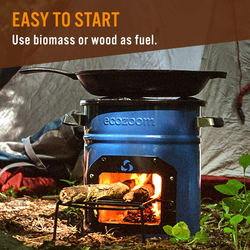 Portable Biomass and Wood Camp Stove for Camping Outdoor and RV EcoZoom Dura Rocket Survival Stove