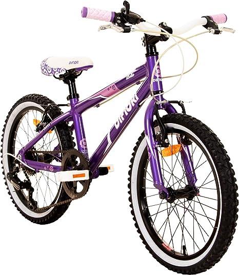 Difiori Bicicleta Infantil Bella de 18 Pulgadas, para niña, a ...