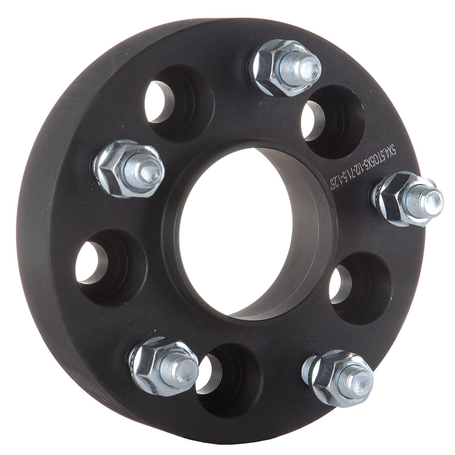 ECCPP 5 lug Wheel Adapters Hubcentric 4X 1.25 inch 5 lug 5x4.5 to 5x5 Wheel Spacer Adapter Fits for Jeep Wrangler JK RIMS on A TJ OR YJ