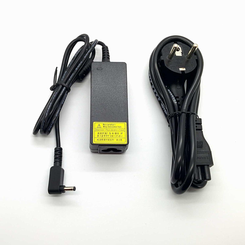 Adaptador Cargador Nuevo Compatible para Portátil ASUS X553M 19v 2,37a 4.0mm * 1.35mm // Protección contra Cortocircuitos, sobrecorriente y ...