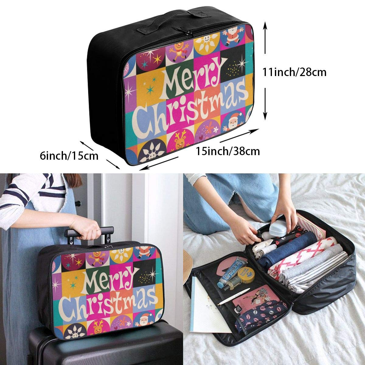 Travel Bags Military Camouflage Portable Suitcase Trolley Handle Luggage Bag