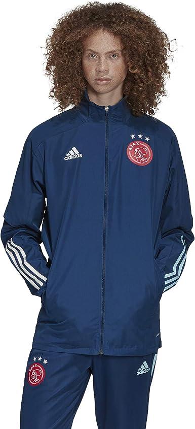 Germany Football Presentation Jacket Mens Top Dk Grey