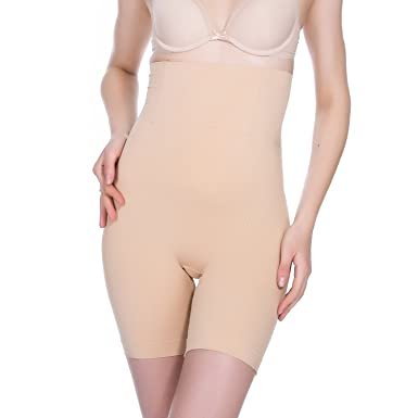 c6405bed6e7c2 TOMASHE High Waist Shapewear Women - Tummy Control Butt Lifter Slimming  Panties - Premium Body Shaper Waist Trainer Underwear  Amazon.co.uk   Clothing