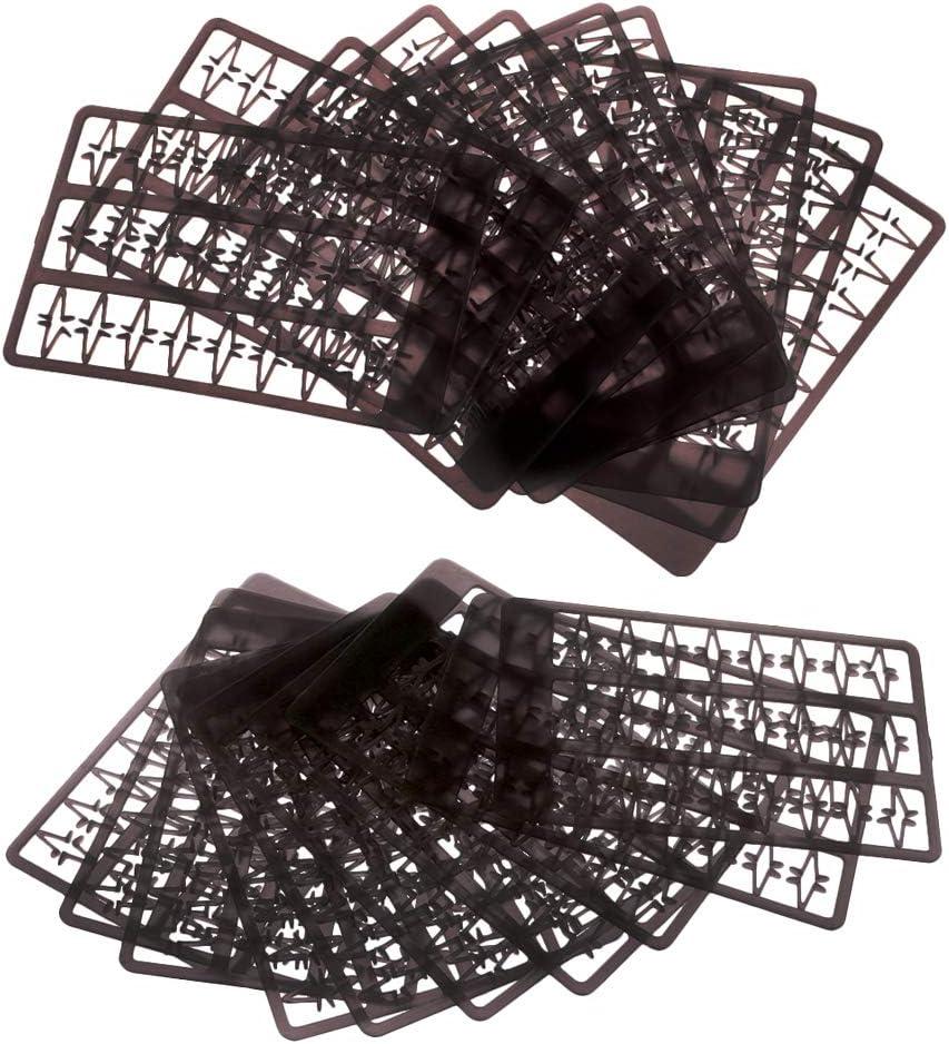 Toygogo 20 Ensembles en Plastique Carpe De P/êche P/êche Stoppe Larr/êt De La Bouillette App/âts Sarr/ête 9mm 5mm