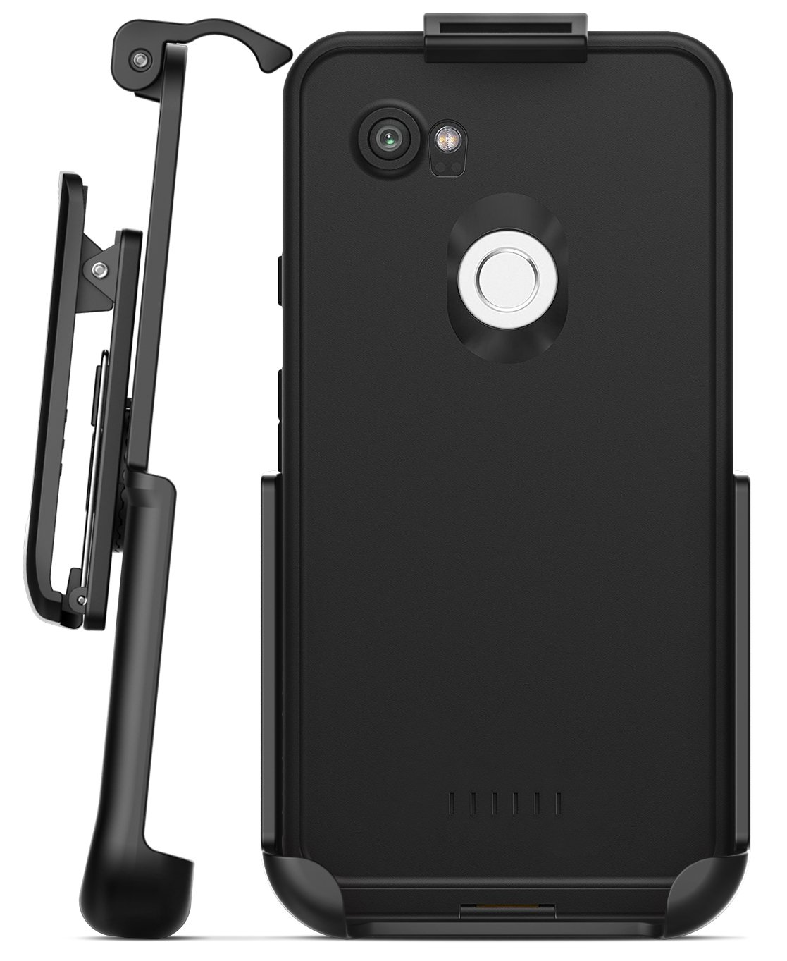 on sale df1e8 22c6f Encased Belt Clip Holster for Lifeproof Fre Case - Google Pixel 2 XL (case  not Included)