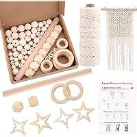 Gukasxi DIY Macrame Kits for Adult Beginners, Macrame Plant Hanger Kits Macrame Wall Hanging Kit, Macrame Supplier Kit…