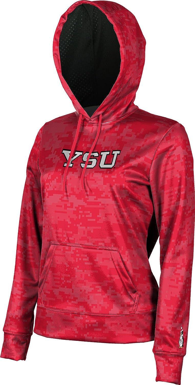 ProSphere Youngstown State University Girls Pullover Hoodie Digi Camo School Spirit Sweatshirt