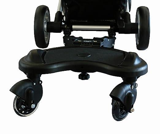 Carrito con tabla y asiento de Elternstolz, para niños negro Negro: Amazon.es: Bebé