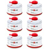 GasOne Camping Fuel Blend Isobutane Fuel Canister 100gram (6 Pack)