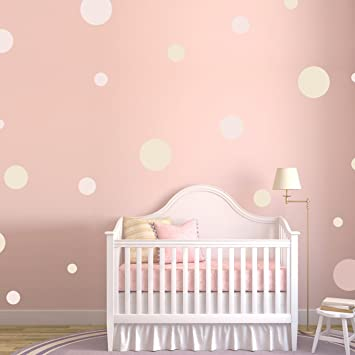 Polka Dots Wall Decals Wall Stickers White Amazonca Home Kitchen
