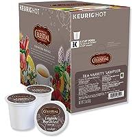 Celestial Seasonings Tea K-Cup Pack Sampler, Black, Green and Herbal Tea, 22 Count