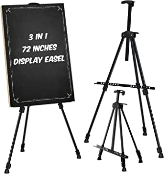 6 Pack of Brand New Black Easels