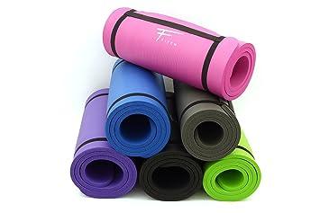 Fitem Alfombrillas Esfera Confort-Espuma de Alta Densidad NBR-183 x 61 x 1,5 cm para Gimnasia, Yoga, Deporte, Gimnasia, Fitness, Pilates y ...