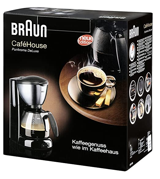 Amazon.com: Braun KF570 10-Cup Coffee Maker, 220-240 Volts (Non-USA Compliant): Drip Coffeemakers: Kitchen & Dining