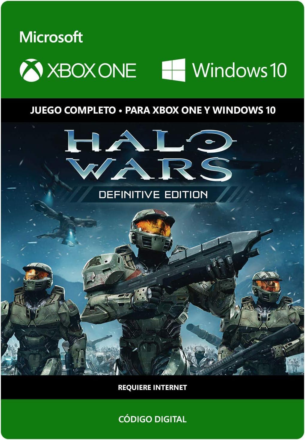 Halo Wars: Definitive Edition | Xbox One/Windows 10 PC - Código de ...